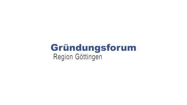 Video Gründungsforum Region Göttingen
